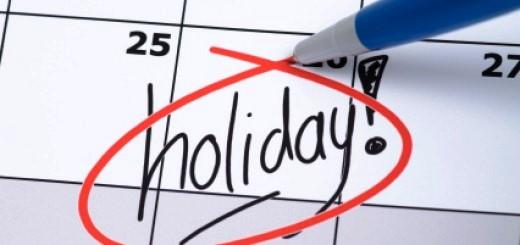 Toni Betriebsferien Company Holidays